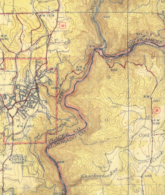 S Topographic Map