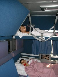 The gallery for --> Amtrak Superliner Family Bedroom