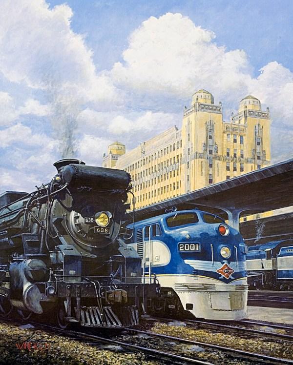 John Winfield Railroad Art