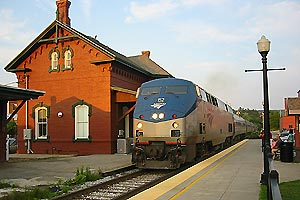 Image result for amtrak train the vermonter
