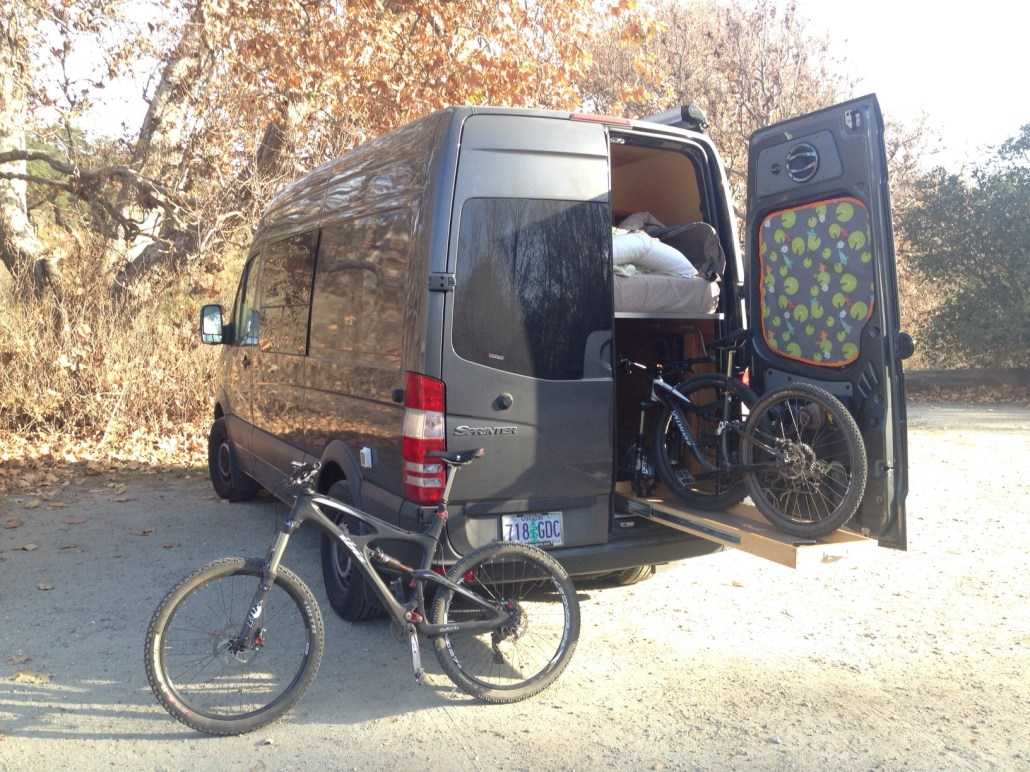 Sprinter bike hauler