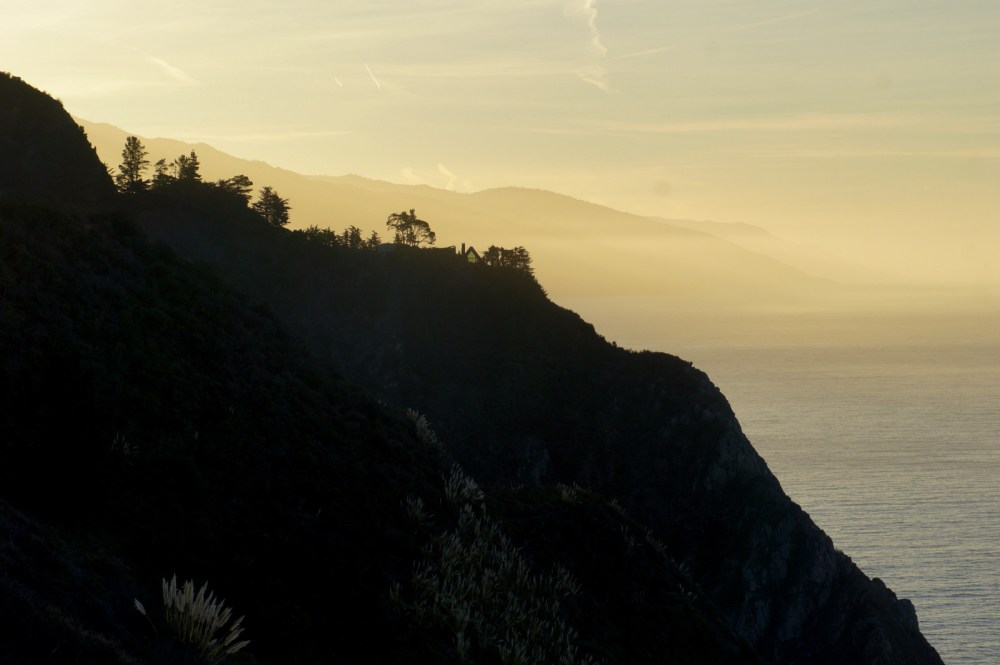 Sunrise in Big Sur.
