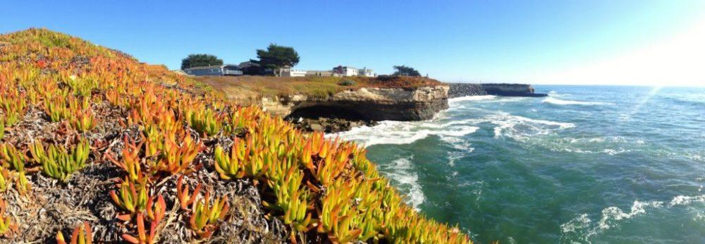 Panorama in Santa Cruz.