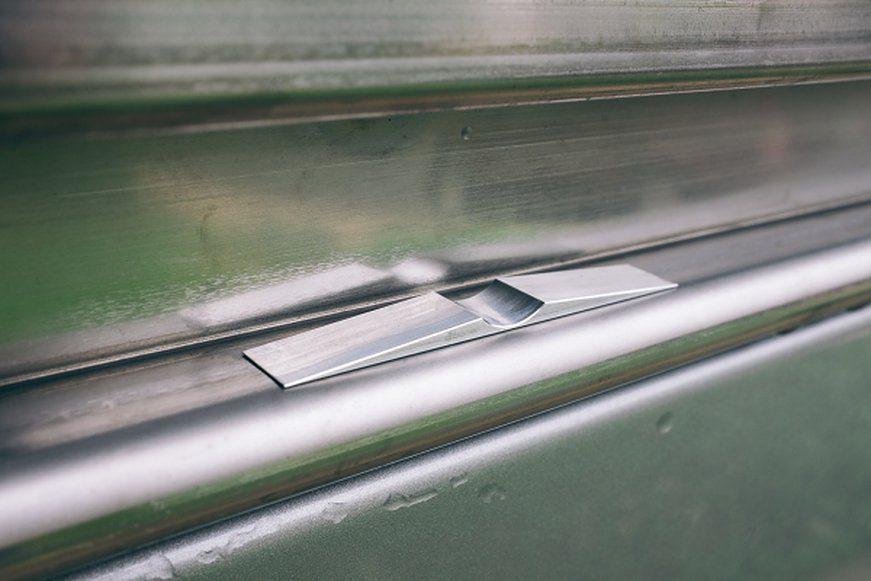 Door Stop For Passenger Slider On Sprinter Camper Van
