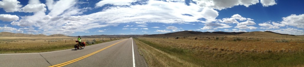 Middle of nowhere on the plains.