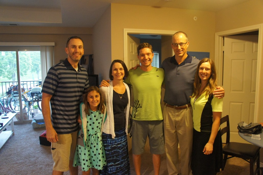 A great stay in Omaha with the Holman family!