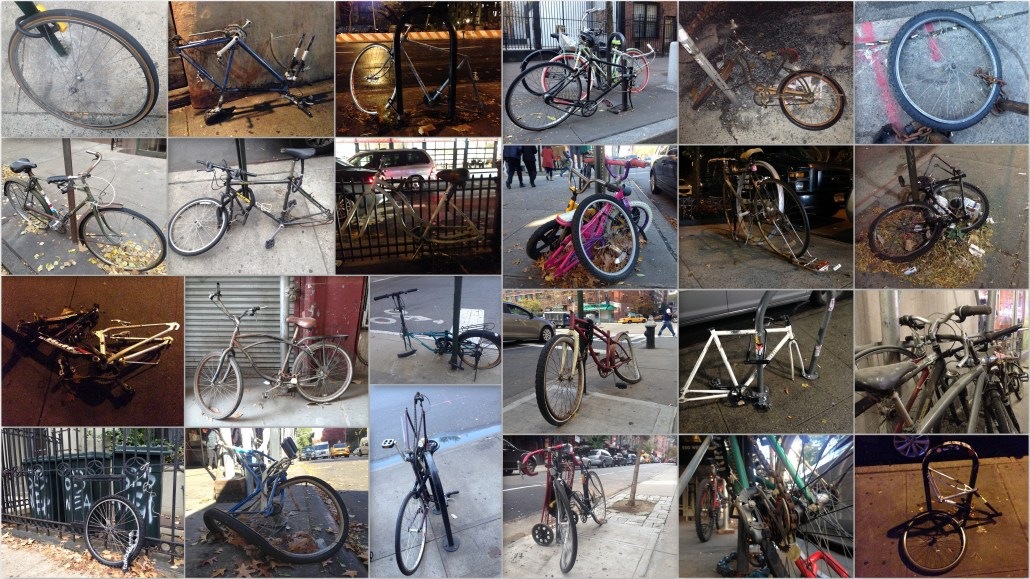 Forgotten bikes of NYC