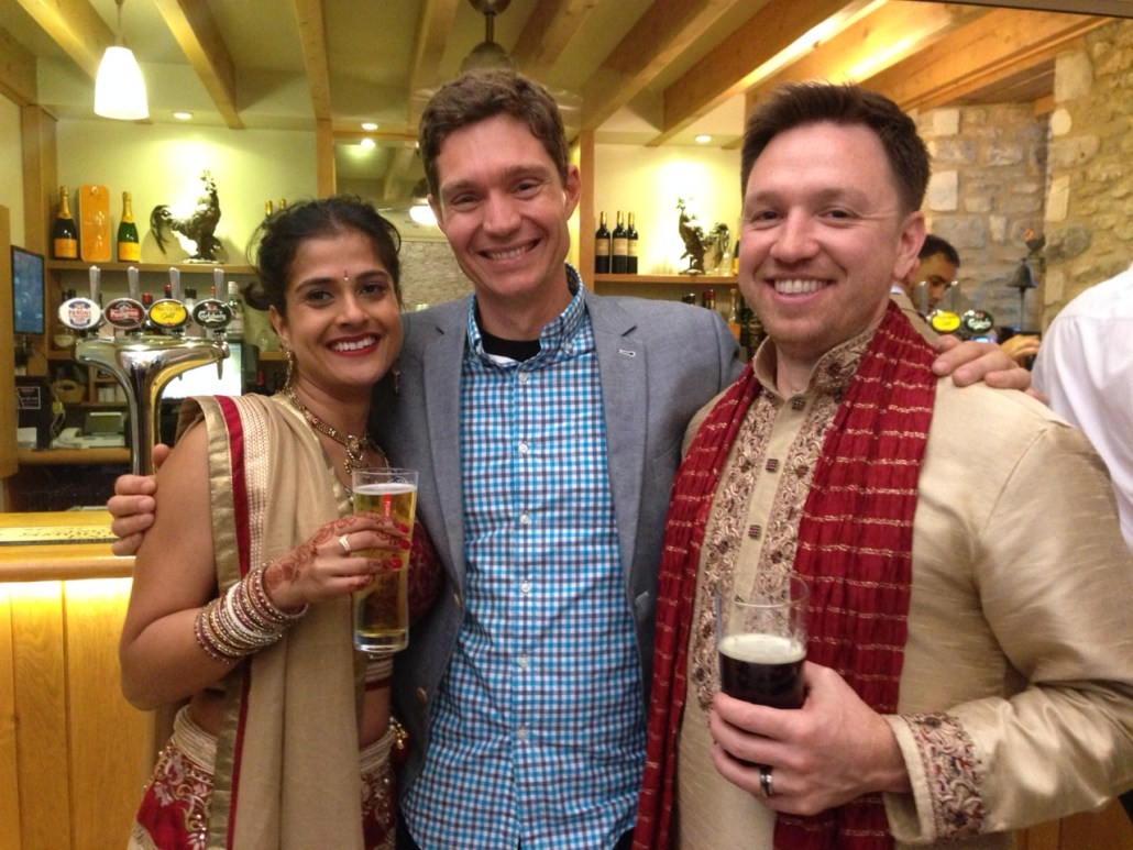 We enjoyed four days of parties and festivities in and around London for my good friend Ryan's wedding to his beautiful and oh-so-nice new wife, Dhara. (She also kept our attendance a secret, down to giving us Indian names on the seating charts!) My first time to a Hindu wedding, which was so fun!