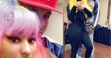 (Photos) Nicki Minaj shares loved-up photos with her man Kenneth Petty