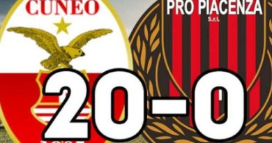 Italian football club, Pro Piacenza kicked out of third division 'Serie C' after being beaten 20-0