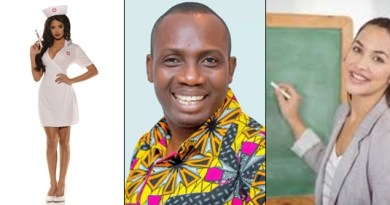 Avoid nurses & teachers if you aren't good in bed – Lutterodt says