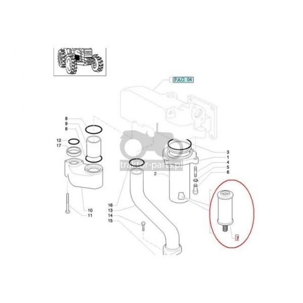 2020-FH55 Filtr hydraulikiCase,David Borwn, Filtry