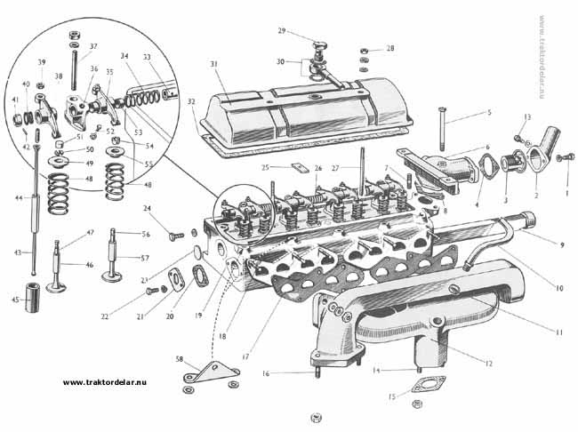 Wiring Diagrams : Massey Ferguson 135 Parts Diagram