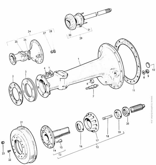 Massey Ferguson 65 Power Steering Diagram