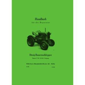 Deutz Traktoren Handbuch Reparatur Bauernschlepper F1M414-46 Viergang