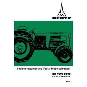 Deutz Bedienungsanleitung D5505