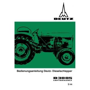 Deutz Betriebsanleitung-Bedienungsanleitung D3005