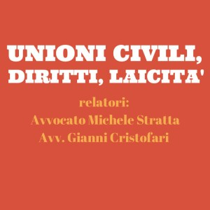 unioni civili diritti laicità