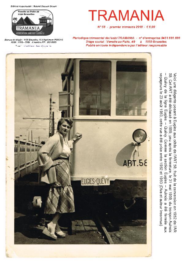 TRAMANIA asbl - sponsoring, tramway preservation