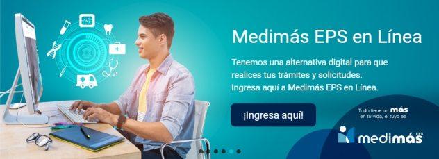 Medimás EPS en Línea, solicite sus citas médicas por internet
