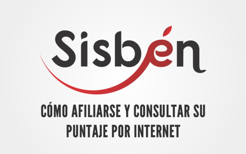 Como afiliarse al sisben y consultar su puntaje por internet