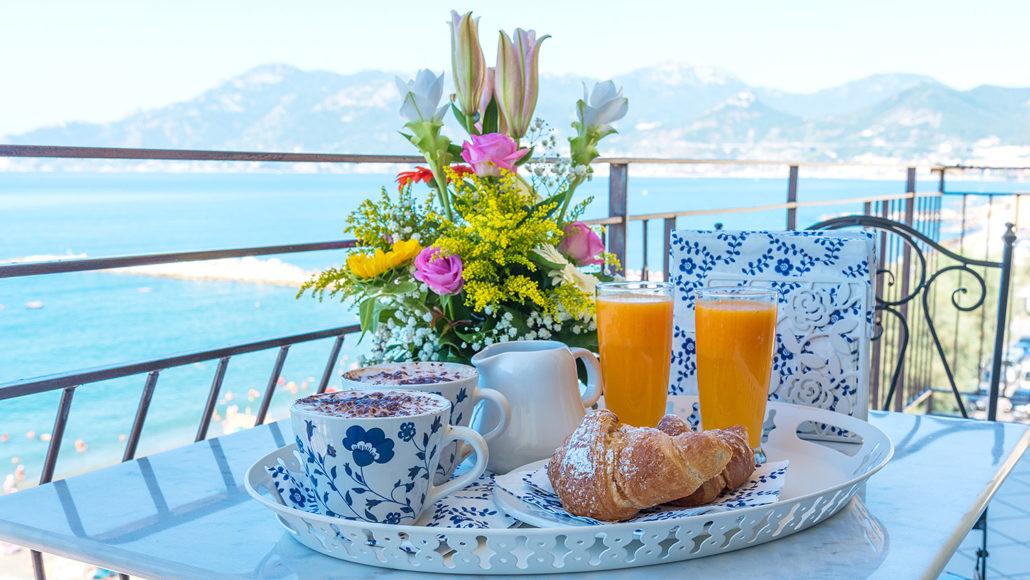 Le camere del BB Tramonto Sul Mare  Vacanze in Costiera Amalfitana