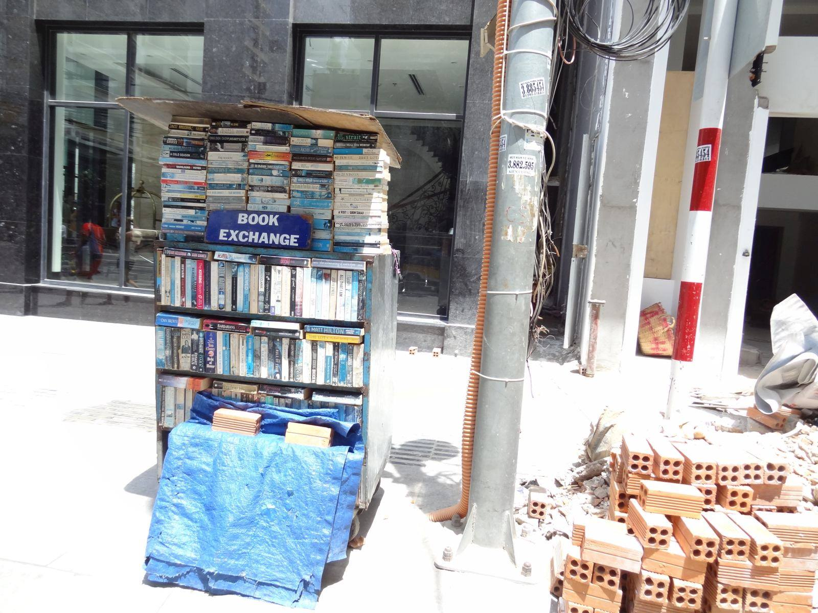 Turystyczny book exchange