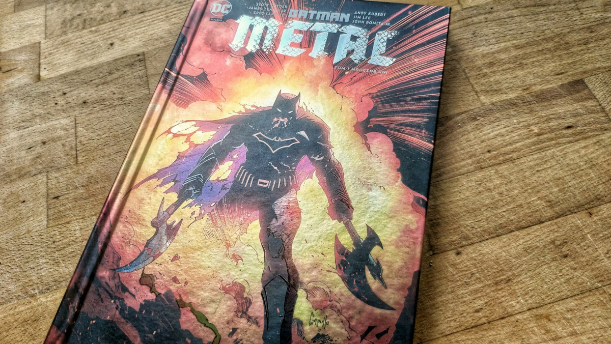 Batman Metal tom 1, ale o co chodzi?