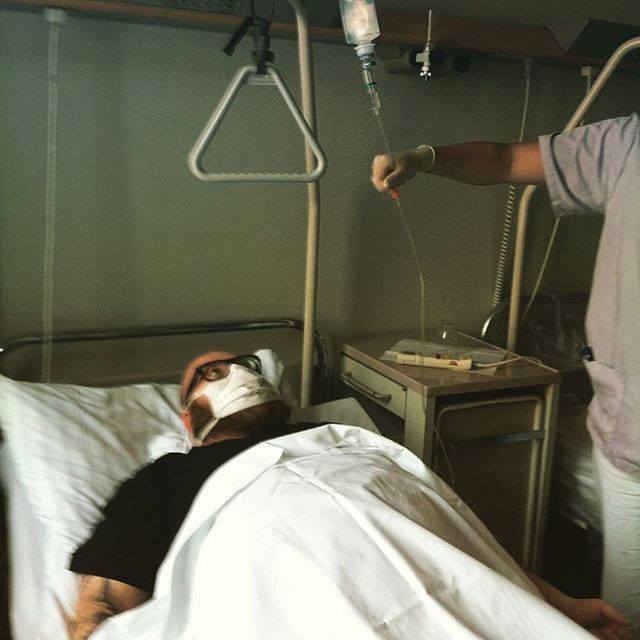 Alex M.O.R.P.H. in Hospital