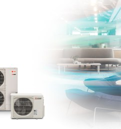 trane ductless hvac solutions [ 1540 x 616 Pixel ]