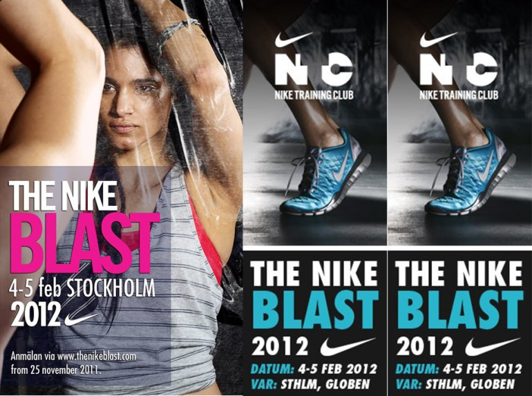 the nikeblast 2012 globen