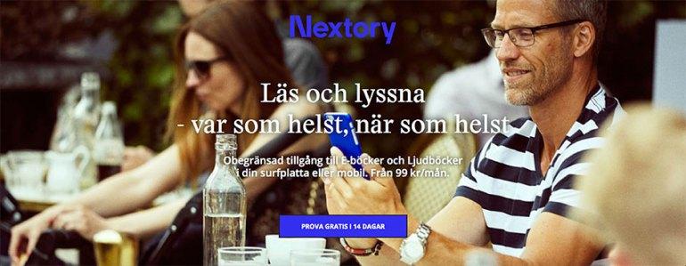 nextory banner