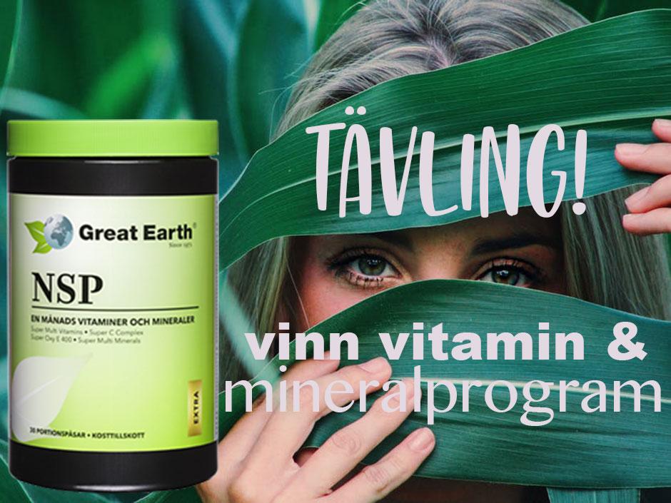 nsp vitaminer och mineraler