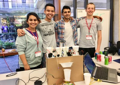Personalized Drinks Mixer based on voice & feelings – Best IoT hack @HackHarvard 2017