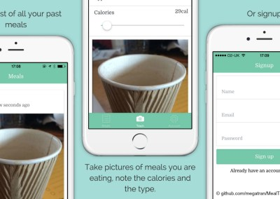 Meal Tracker, a Hybrid App (Ionic)