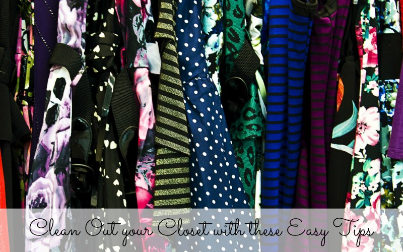 Clean Out your Closet with these Easy Tips