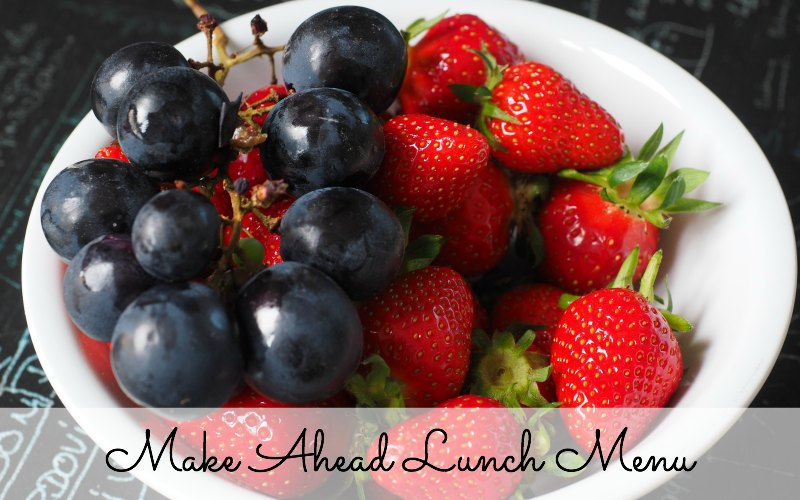 make ahead lunch