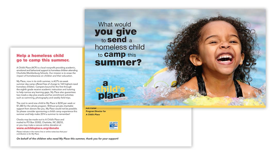 ACP summer camp postcard