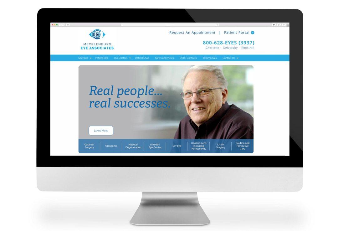 Mecklenburg Eye website