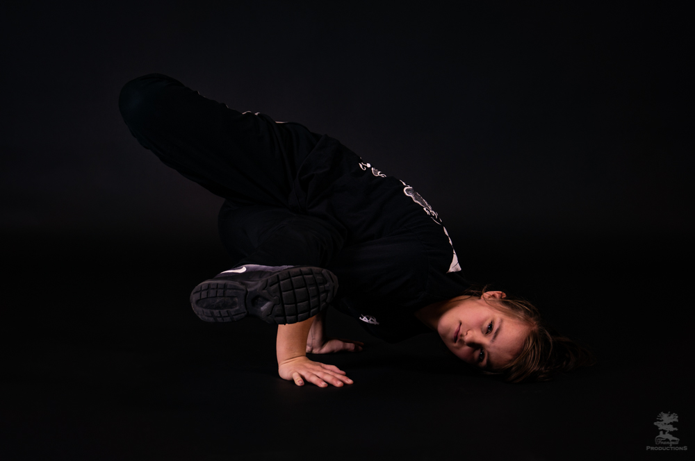 Bgirl Spider, Clean North, Side freeze