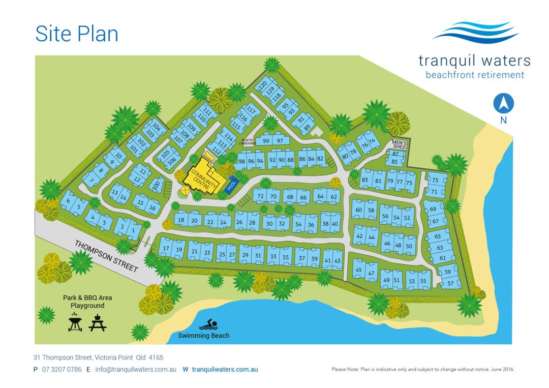 Tranquil Waters Masterplan