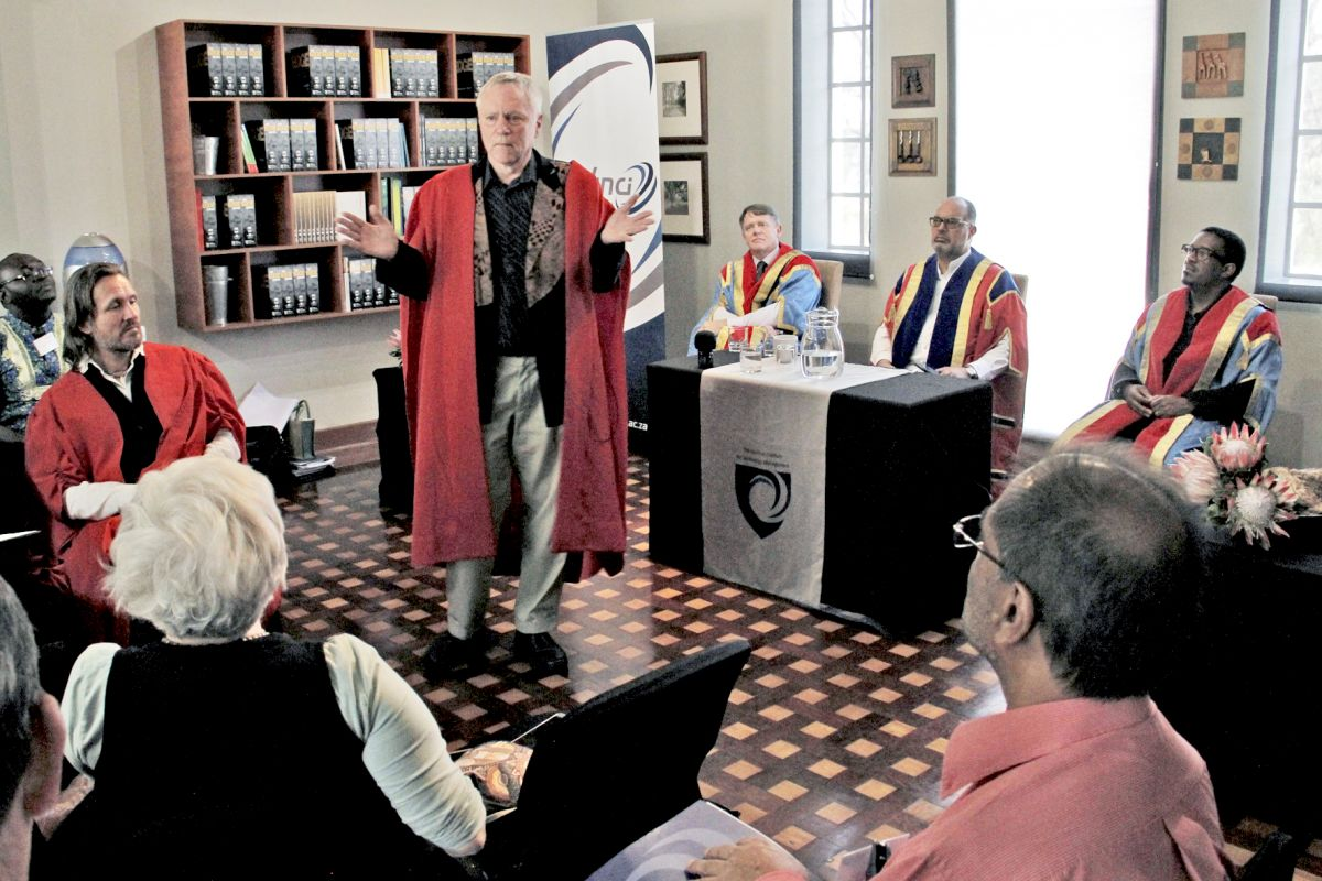 Trans4m's Lessem and Schieffer deliver Inaugural Lectures at The Da Vinci Institute, South Africa