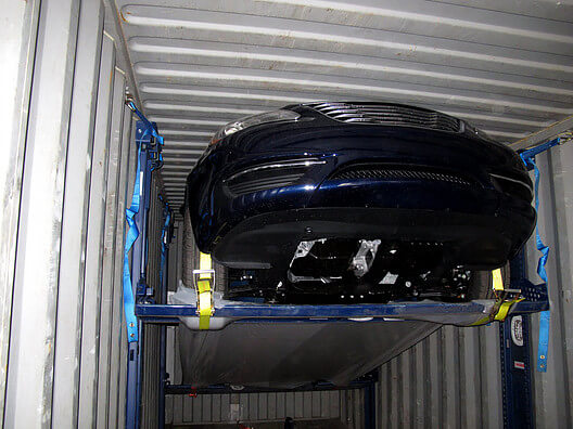 Removable Car Storage Racking