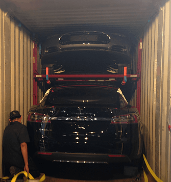 Cars in Containers