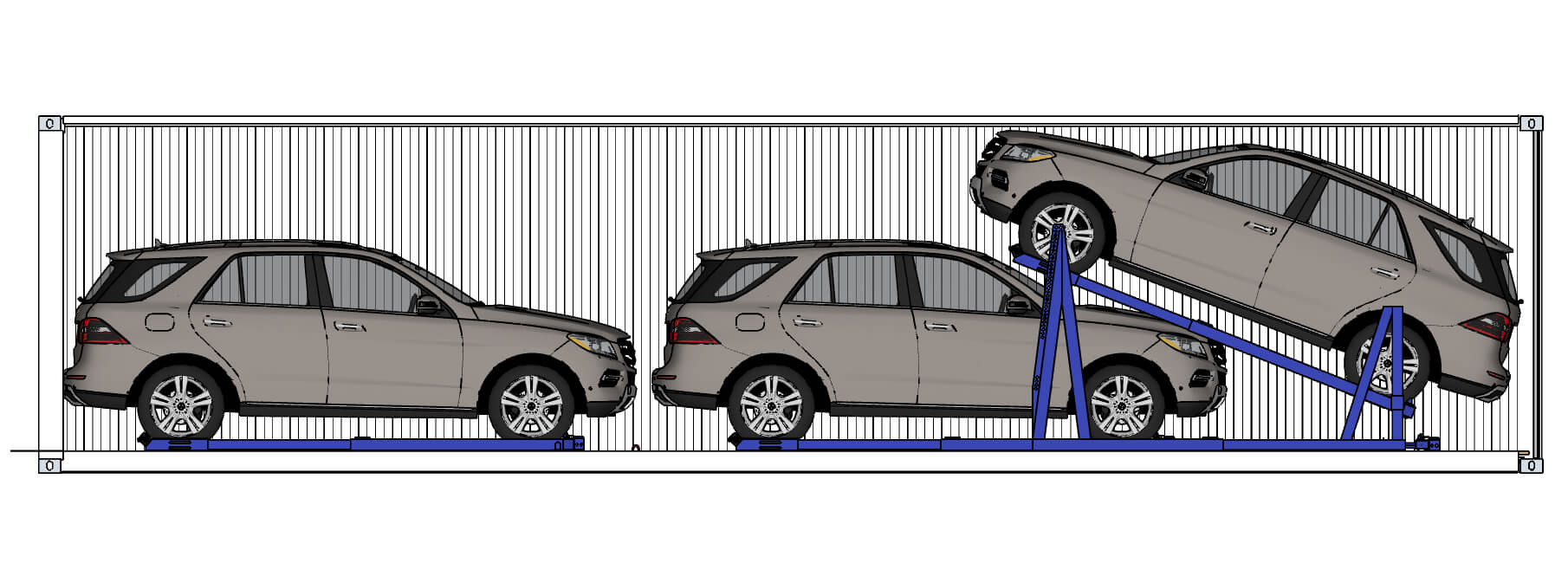 EL-RAK - Vehicle Racking Systems, Car Storage Solutions – Trans-Rak