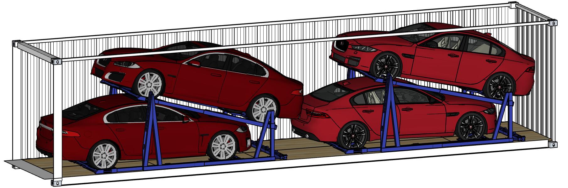 El Rak Vehicle Racking Systems Car Storage Solutions Trans Rak
