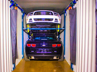 cars in container