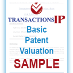 Basic Patent Valuation