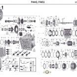 F4A42, Описание, Справочные Цены, запчасти для АКПП Болезни