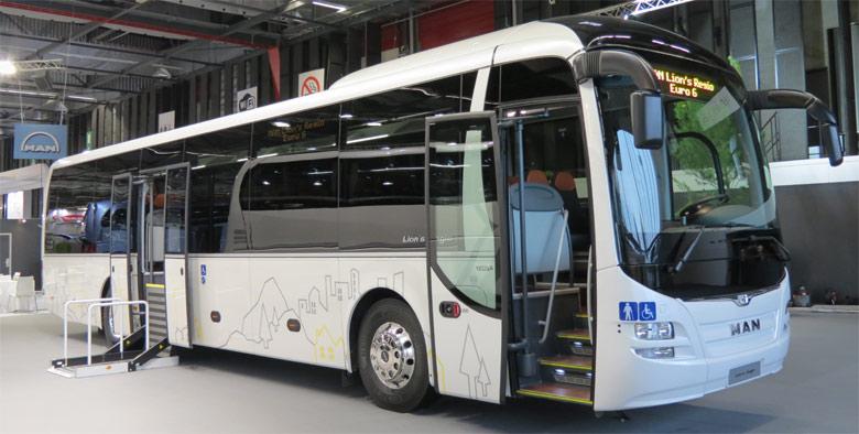 TRANSBUS Dossier Autocar Expo MAN Et Neoplan